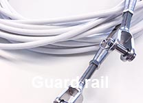 Order guard rail online - coated or uncoated