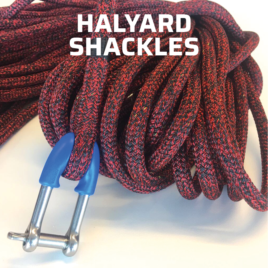 Wichard halyard shackles