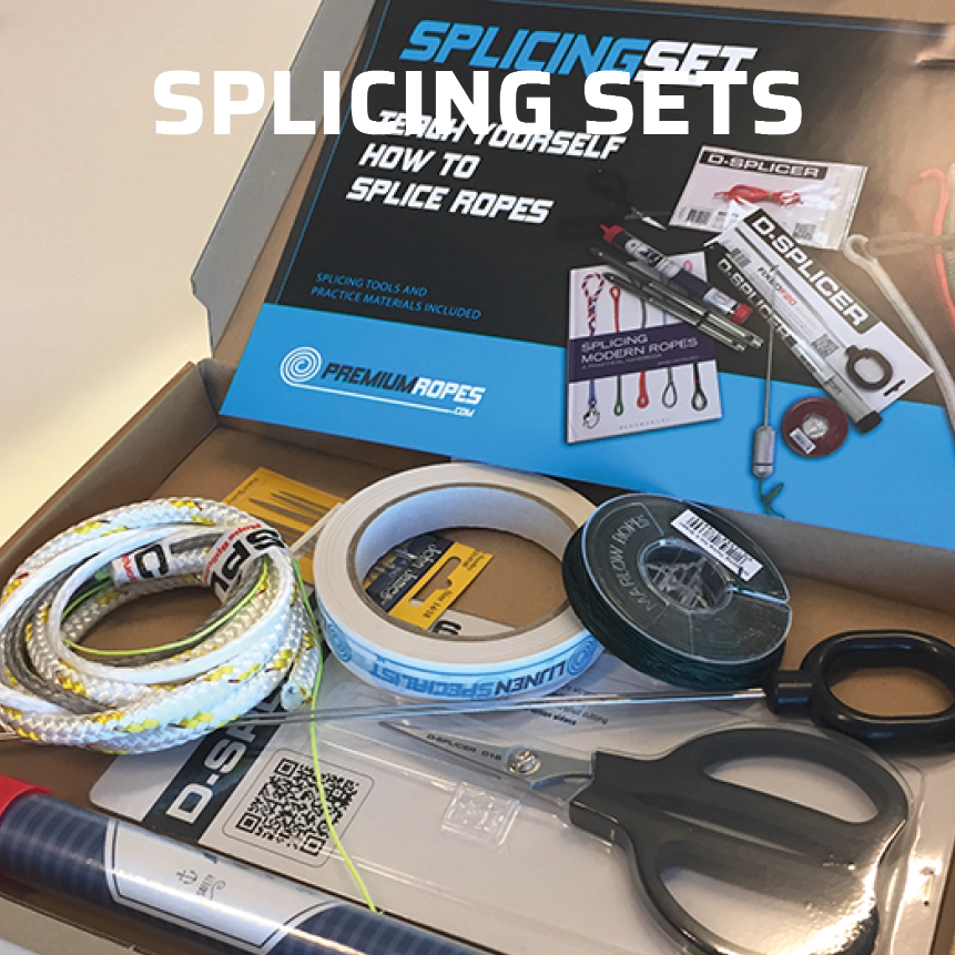 Rope splicing sets