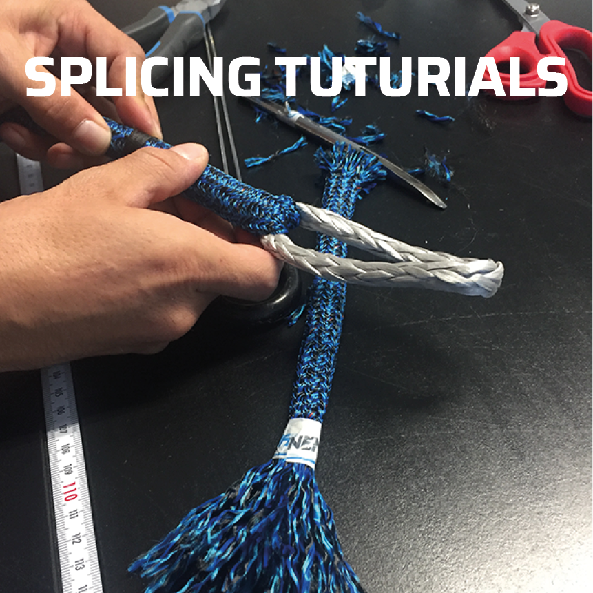 Rope splicing tutorials