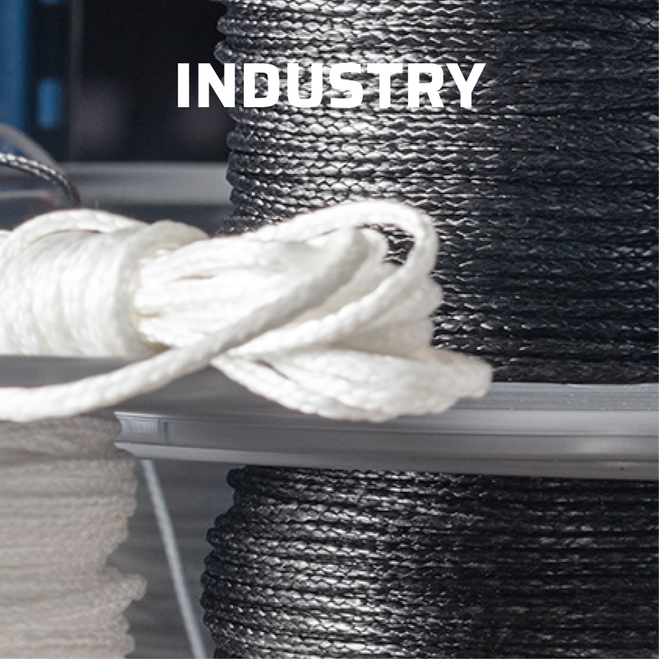Stirotex synthetic ropes for the industry
