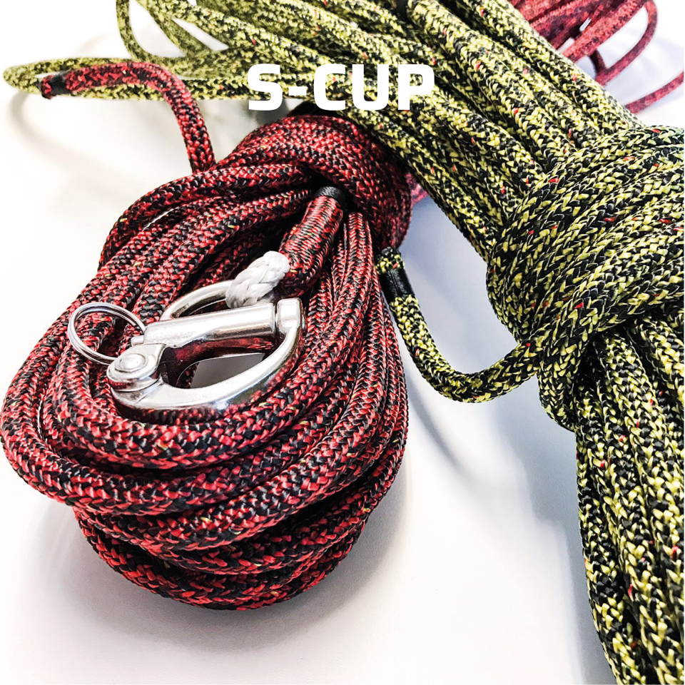 Stirotex ropes: S-Cup for sailing halyards and sheets