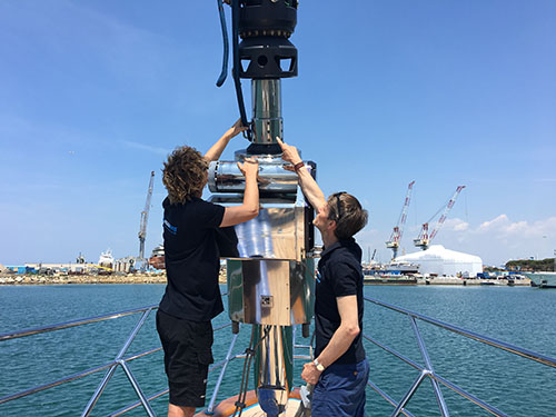 Premiumropes superyacht rigging team