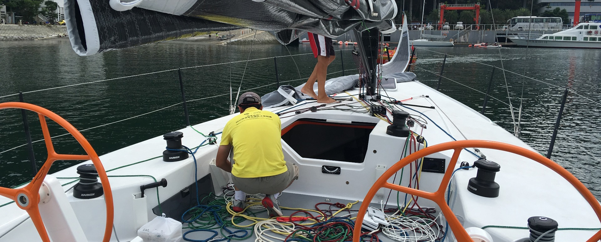 Rope advice for regatta and yachtracing